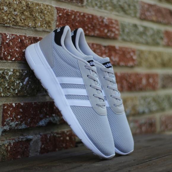 Adidas Mens Us Lite Racer Running Shoe